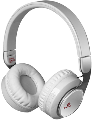 Беспроводная Bluetooth-гарнитура Redragon Sky W белый 64212 ноутбук acer aspire v nitro vn7 591g 771j nx muyer 002