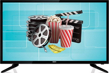 LED телевизор BBK 32 LEX-7047/T2C черный телевизор led 32 bbk 32lex 7047 t2c smart tv hd ready wi fi android