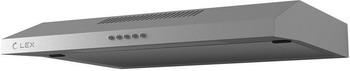 Вытяжка козырьковая Lex S 600 inox вытяжка lex mini 600 inox настенная механическое 37дб 420м3 час нержавеющая сталь черное стекло