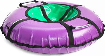 Тюбинг Hubster Ринг Pro фиолетовый-зеленый (120см) во4709-3 цена 2017