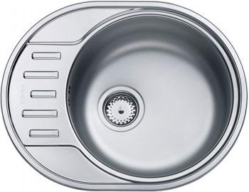 Кухонная мойка FRANKE POLAR нерж PXL 611-57 101.0443.085 franke pxl 611 60 нерж сталь зеркальная