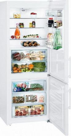 Двухкамерный холодильник Liebherr CBNP 5156 двухкамерный холодильник liebherr cuwb 3311