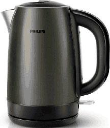 Чайник электрический Philips HD 9323/80 чайник philips hd 9323 40 2200вт 1 7л сталь сиренево черный