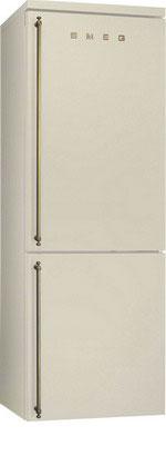 Двухкамерный холодильник Smeg FA 8003 PO smeg fq55fxe