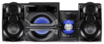 Музыкальный центр Panasonic SC-VKX 95 EE-K минисистема panasonic sc akx200 black sc akx200e k