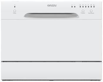 Компактная посудомоечная машина Ginzzu DC 261 посудомоечная машина beko dis 15010