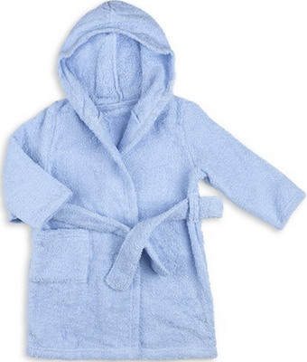Халат Грач махра 2-х сторонняя Рт. 86 голубой брюки для мальчика let s go цвет серый голубой 10211 размер 86