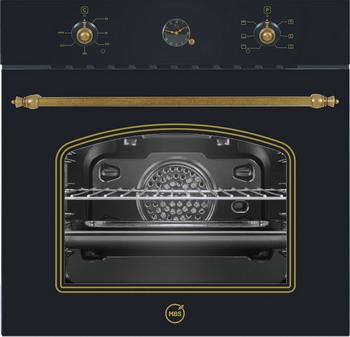 Встраиваемый электрический духовой шкаф MBS DE-606 Black mbs de 610bl
