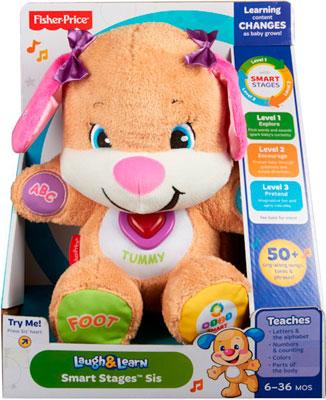 Мягкая игрушка Fisher-Price Сестричка ученого щенка с технологией Smart Stages