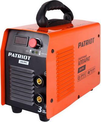 Сварочный аппарат Patriot 200 PFC сварочный инвертор patriot smart 200 mma