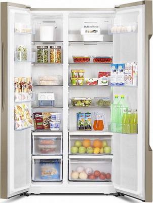Холодильник Side by Side HISENSE RC-67 WS4SAY hisense rq 56 wc4sax
