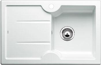 Кухонная мойка BLANCO IDESSA 45 S (чаша справа) КЕРАМИКА глянцевый белый blanco nova 5 s чаша справа шампань