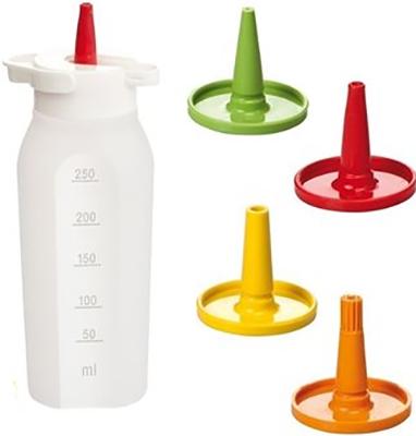 Дозировочная бутылка Tescoma PRESTO 250мл 4 насадки 420728