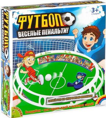 Настольная игра Bondibon Весёлые пенальти ВВ2336 настольная игра tehnok футбол чемпион