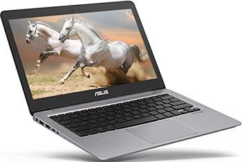 Ноутбук ASUS Zenbook UX 310 UQ-FC 518 T (90 NB0CL1-M 07860) серый