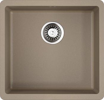 Кухонная мойка OMOIKIRI Kata 44-U-CA Artgranit/карамель (4993399) кухонная мойка omoikiri kata 40 u gr artgranit leningrad grey 4993397