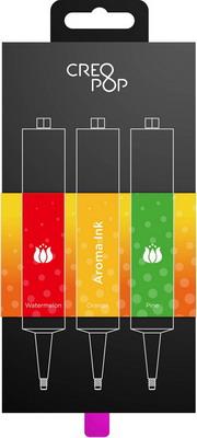 Чернила для 3D ручки ароматические (Red, Orange, Green) CreoPop SKU 014