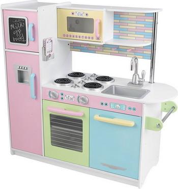 Деревянная кухня KidKraft Pastel Uptown Espresso 53257_KE kidkraft принцесса