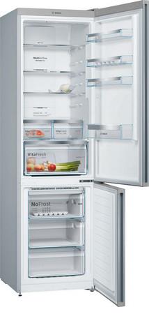 Двухкамерный холодильник Bosch KGN 39 JB 3 AR холодильник bosch kgn 36vp14r