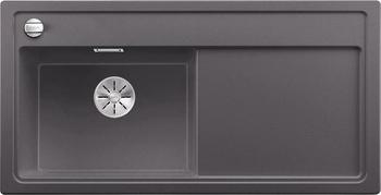 Кухонная мойка BLANCO ZENAR XL 6S (чаша слева) SILGRANIT темная скала с кл.-авт. InFino 523975