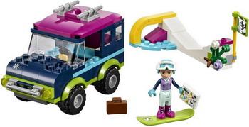 Конструктор Lego FRIENDS Горнолыжный курорт: внедорожник 41321 lego горный внедорожник 70589