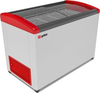 Морозильный ларь Gellar FG 400 E красный морозильный ларь бирюса б 260к