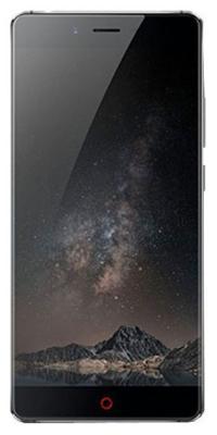 Мобильный телефон ZTE Nubia Z 11 Max (4+64) серый клип кейс gresso мармелад для zte nubia z9 max черный