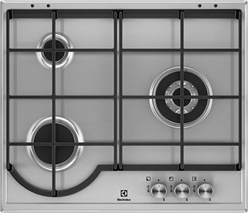 Встраиваемая газовая варочная панель Electrolux EGH 96333 BX сменная панель silver electrolux eta 16