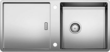 Кухонная мойка BLANCO JARON XL 6S нерж. сталь зеркальная полировка с клапаном-автоматом 521666 мойка кухонная blanco elon xl 6 s шампань с клапаном автоматом 518741