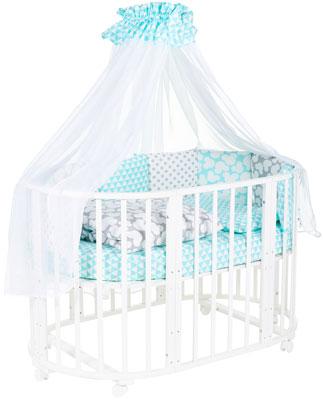 Комплект в кроватку Sweet Baby Tenero Verde (зеленый) 8 предметов комплекты в кроватку makkaroni kids sweet baby 125x65 6 предметов