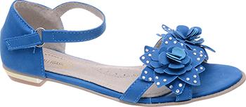 Туфли открытые Аллигаша 350306 34 размер цвет синий keymao синий цвет