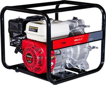 Мотопомпа FUBAG для загрязненной воды PTH 600 ST 838216 мотопомпа fubag pth 1000
