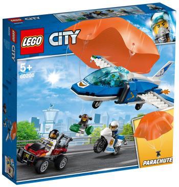 Конструктор Lego Воздушная полиция: арест парашютиста 60208 City Police lego city police station architecture building blocks model kit plate educational toys for children l60047