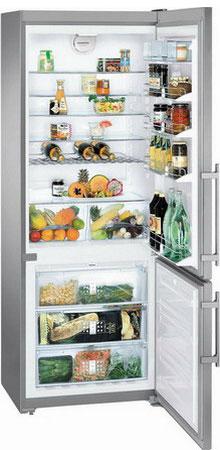 Двухкамерный холодильник Liebherr CNPes 5156 двухкамерный холодильник liebherr ctp 2521