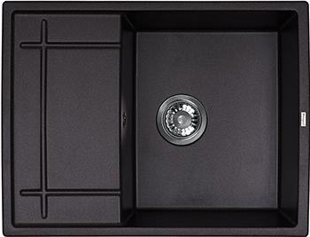Кухонная мойка Weissgauff QUADRO 650 Eco Granit графит  цена и фото