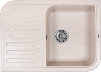 Кухонная мойка Weissgauff SOFTLINE 695 Eco Granit светло-бежевый  weissgauff classic 695 eco granit чёрный