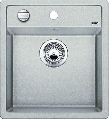 Кухонная мойка BLANCO DALAGO 45 SILGRANIT жемчужный с клапаном-автоматом  кухонная мойка blanco dalago 45 grey beige