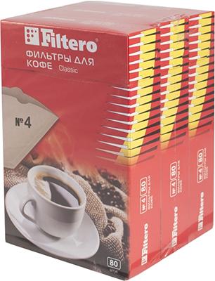 Набор фильтров Filtero Classic №4 240шт набор фильтров 1 4 tsi 122 л с