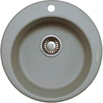 Кухонная мойка LAVA R.1 (SCANDIC серый) кухонная мойка lava q 1 scandic серый