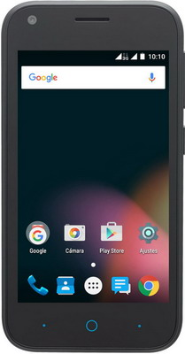 Мобильный телефон ZTE Blade L 110 черный мобильный телефон zte r341 черный