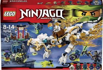 Конструктор Lego Ninjago Дракон Сэнсэя Ву 70734 lego lego ninjago 70601 небесная акула
