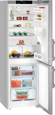 Двухкамерный холодильник Liebherr CNef 3535 двухкамерный холодильник liebherr ctpsl 2541