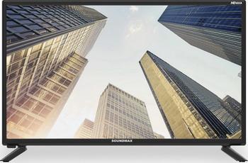 LED телевизор Soundmax SM-LED 28 M 04 чёрный кеды coco perla coco perla co039awrsq43