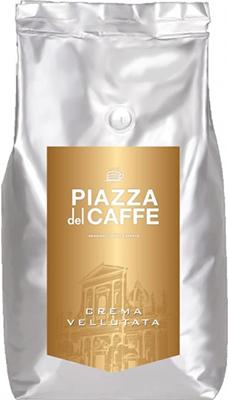 Кофе зерновой Piazza del Caffe Crema Vellutata 1кг mens casual 3d personality skull printing short sleeve t shirt cotton sport black tees