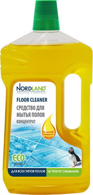 Средство для мытья полов NORDLAND 393095 бытовая химия миф средство для мытья посуды лаванда 500 мл