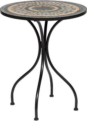 Стол малый Tetchair Secret De Maison Romeo (PL 08-1070-1-GBRN) (черный с мозайкой) 11874 стол малый tetchair pelangi орех 12511