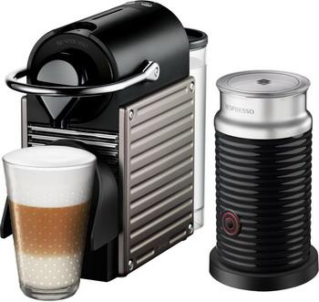 Кофемашина капсульная Nespresso Pixie Bundle C 60 nespresso кофемашина nespresso pixie c60 67889 nespresso