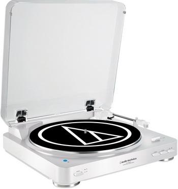 Проигрыватель виниловых дисков Audio-Technica AT-LP 60 BT WH проигрыватель виниловых дисков denon dp 400