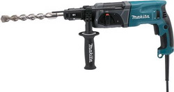 Перфоратор Makita HR 2470 FT перфоратор hr2810 800 вт 2 9 дж sds plus makita