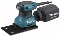 Вибрационная шлифовальная машина Makita BO 4566 шлифмашина вибрационная makita bo 3710
